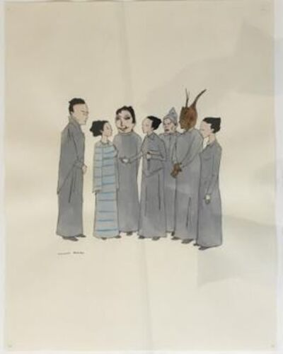 Marcel Dzama, 'Untitled (Priests)', 2003