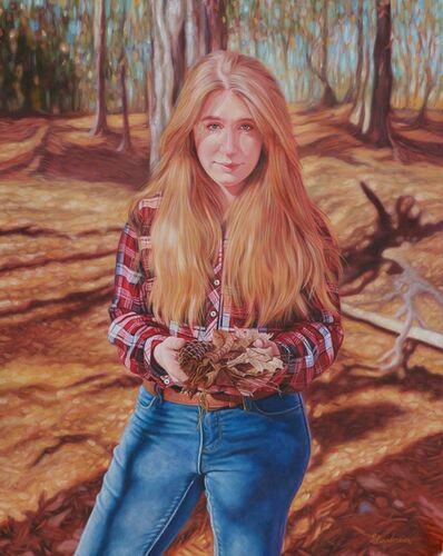 Rachel Linnemeier, 'Colors Revealed (Portrait of Julianna Wells)', 2020