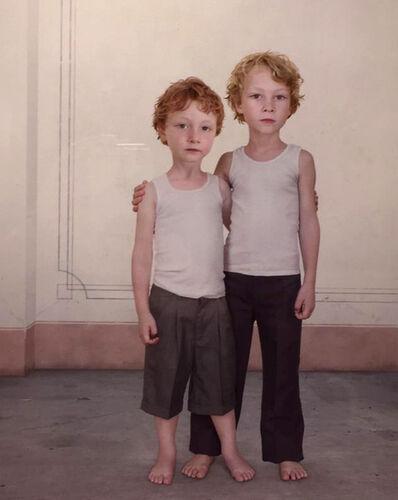 "Loretta Lux, '""Hugo and Dylan""', 2006"