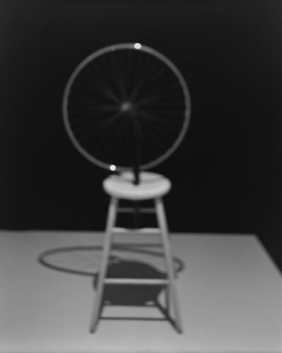 Hiroshi Sugimoto, 'Past Presence 025, Bicycle Wheel, Marcel Duchamp, ', 2014