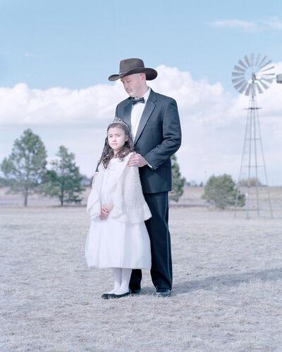 David Magnusson, 'Sophie Collins, 11 years & Charlie Collins. Colorado Springs, Colorado.'