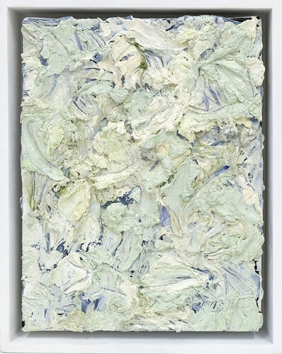 Gail Behrmann, 'Green Grey Rectangle 2', 2020