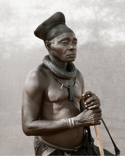 Christopher Rimmer, 'Ovahimba Headman, Namibia', 2016