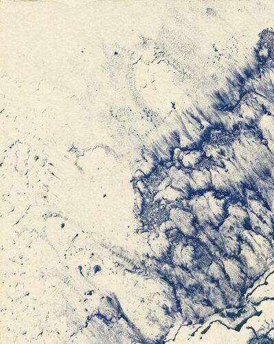 Makoto Fujimura, 'Waves (Study)  浪', 2016