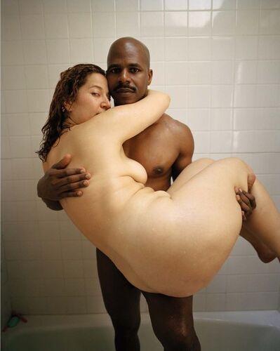Soon Choel Byun, 'Interracial couple', 2001