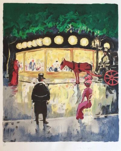 Kees van Dongen, 'Le Carrousel (De Champs- Elysées)', 1963