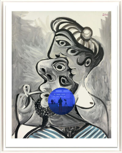 Jeff Koons, 'Gazing Ball (Picasso Couple)', 2017