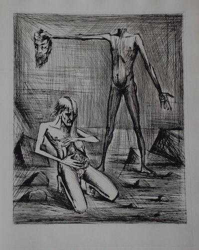 Bernard Buffet, 'L'enfer de Dante / Hélas', 1977
