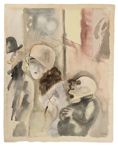 George Grosz, 'At Night', 1926