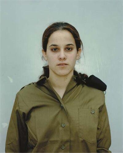 Rineke Dijkstra, 'Induction Center, Tel Hashomer, Israel, April 12', 1999