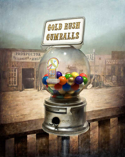 Ben Steele, 'Gold Rush Gumballs', 2016