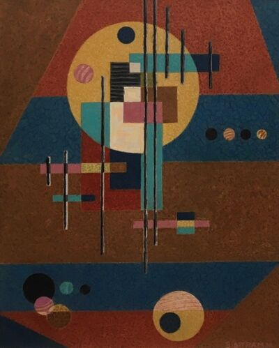 Emil Bisttram, 'Untitled (Abstraction)', 1931