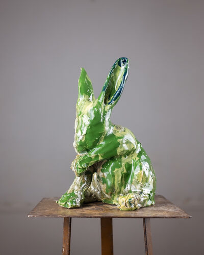 Marina Le Gall, 'Green rabbit', 2019
