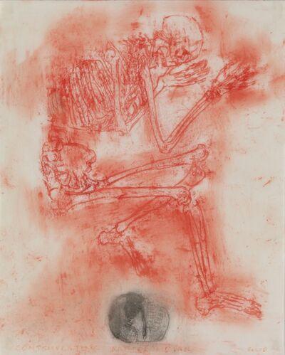Leon Golub, 'Contemplating Pre-Columbian'