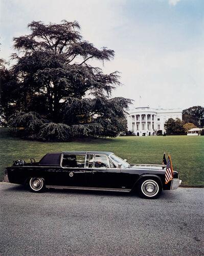Evelyn Hofer, 'The President's Car, Washington D.C.', 1965