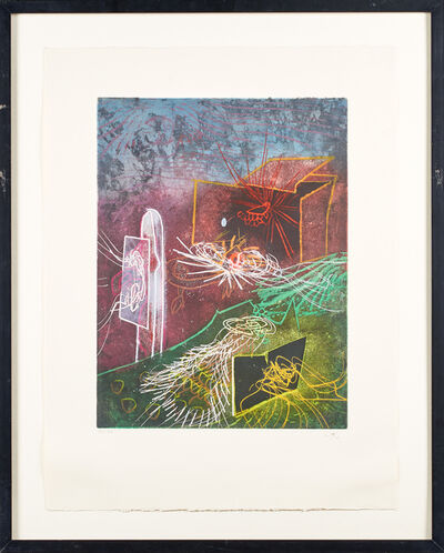 Roberto Matta, 'L' Explosion qui Eclaire Mon Abime', 1977
