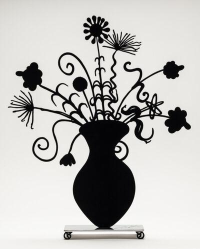 Kenny Scharf, 'Kenny Scharf, Flores Black', 2020