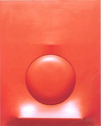 Agostino Bonalumi, 'Rosso', 1968