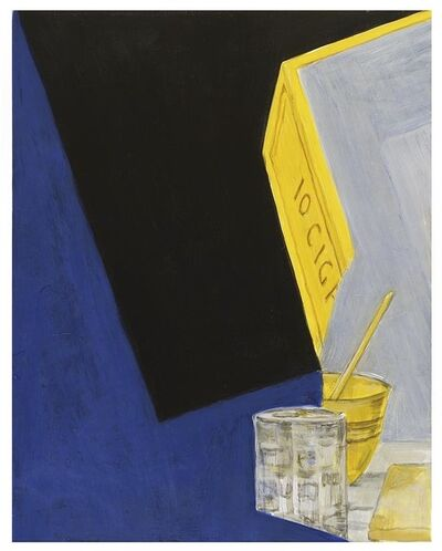 George Schneeman, 'Blue/Cigarettes', 2001