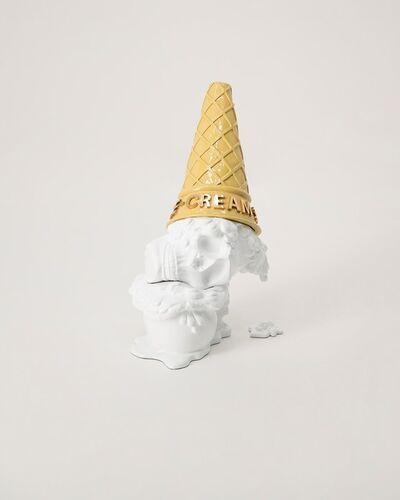 Marcos Cojab, 'White ice cream skull', 2020