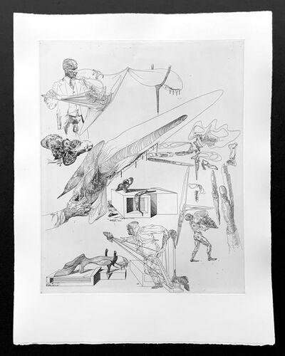 Salvador Dalí, 'Cranes Mous et Harpe Cranienne ', 1935