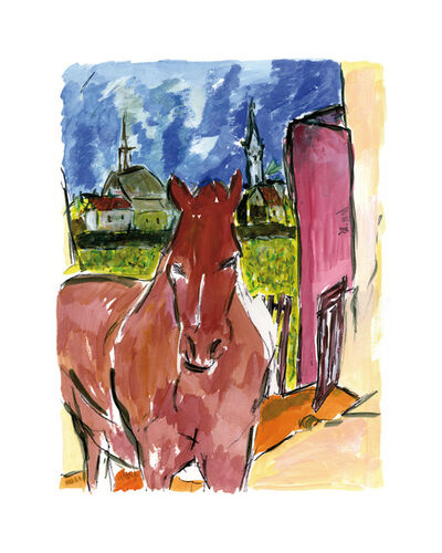 Bob Dylan, 'Horse - 2010', 2010