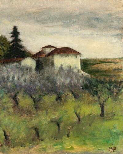 "Ottone Rosai, '""Tuscan Landscape""', 1940"