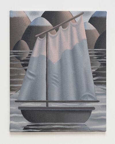 Laurens Legiers, 'ship in the evening light', 2020
