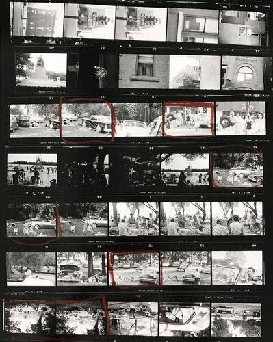 Robert Frank, 'Contact Sheet #78 (Ann Arbor, Michigan)', 2009