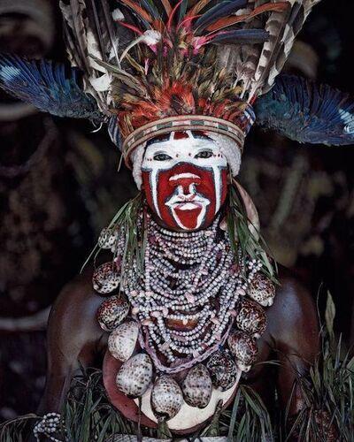 Jimmy Nelson, 'XV 77 - Kui East Wigman - Mount Hagen, Western Highlands -Papua New Guinea', 2010