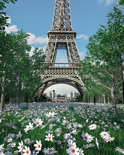 Timo Helgert, 'The Return of Nature Paris', 2020