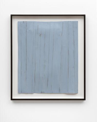Özcan Kaplan, 'Papierarbeit (blau) #4, Januar 2018', 2018