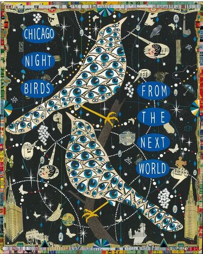 Tony Fitzpatrick, 'Chicago Night Birds (A Prayer for Otis Clay)', 2016