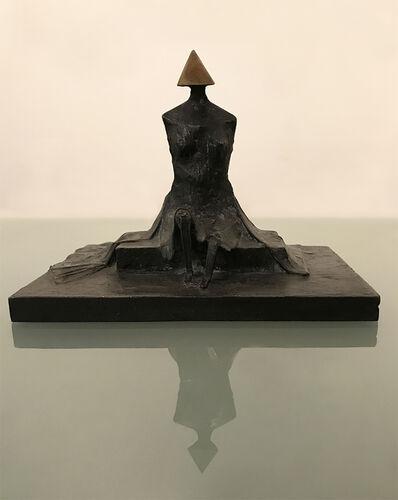 Lynn Chadwick, 'Sitting Woman In Robes II', 1987