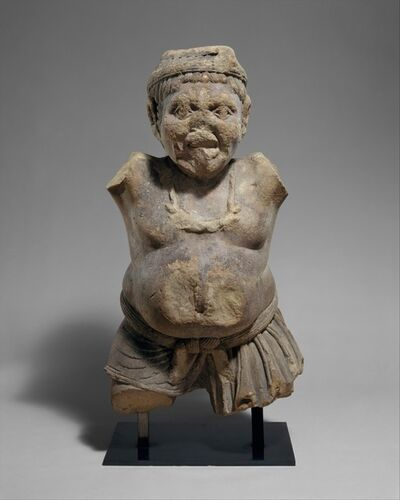 Unknown Indian, 'Yaksha', ca. 50 B.C.
