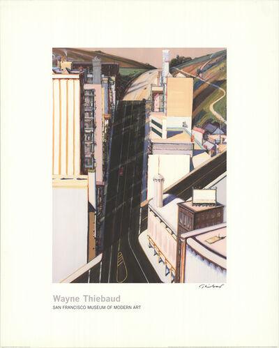 Wayne Thiebaud, 'Sunset Streets', 1985