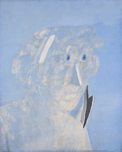 Jankel Adler, 'Head of a Man', 1938-1939