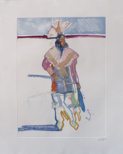 John Nieto, 'Sioux Indian Dancer'
