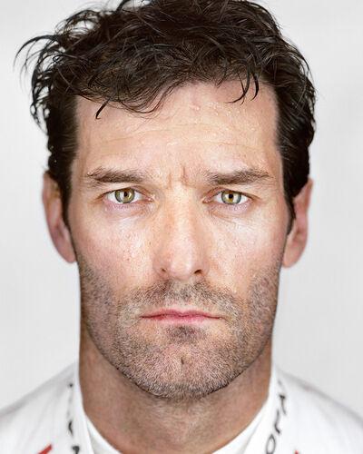 Martin Schoeller, 'Mark Webber', 2016