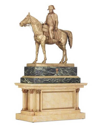 Louis Marie Moris, 'Napoléon on Horseback ', ca. 1850