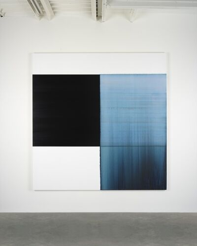 Callum Innes, 'Exposed Painting Delft Blue', 2018