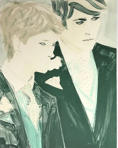 Elizabeth Peyton, 'Prince Harry and Prince William', 2000