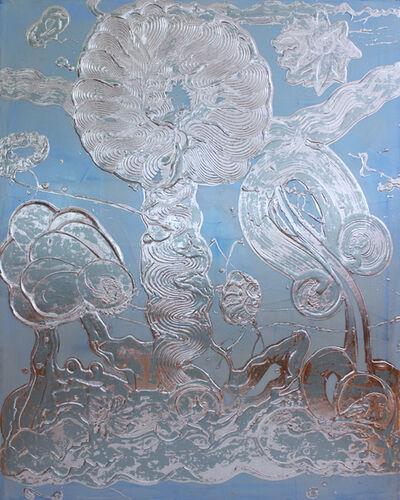 Catherine Howe, 'Blue Opal Painting (Rosie)', 2019