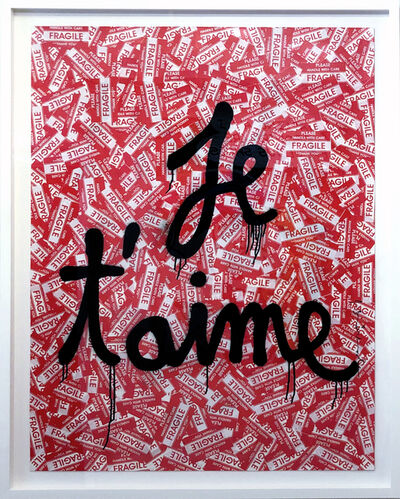 Mr. Brainwash, 'Je T'aime', 2020