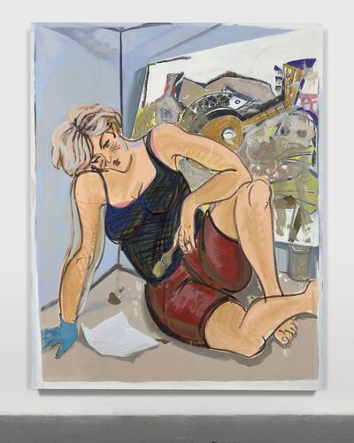 Ella Kruglyanskaya, 'Painter Exhausted, III', 2017