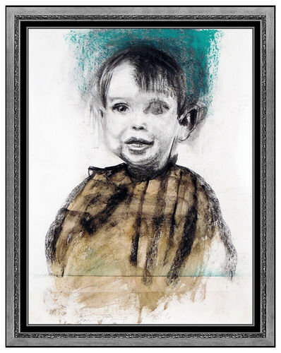 Jim Dine, 'The Artist as a Boy', 1996