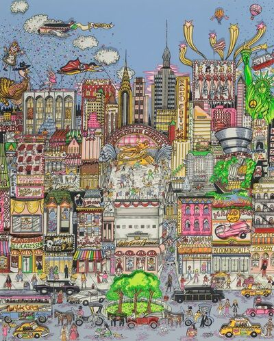 Charles Fazzino, 'I'll Take Manhattan', 1991