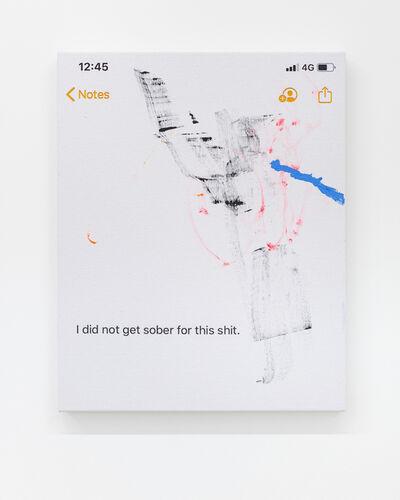 Richie Culver, 'Sober', 2020