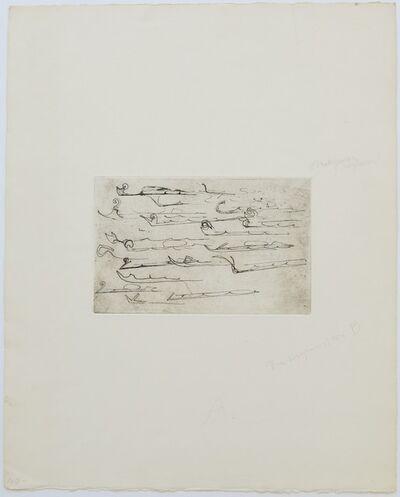 Joseph Beuys, 'Suite Zirkulationszeit - Urschlitten 2', 1982
