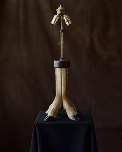 Tom Baril, 'Deer Hooves Lamp (847)', 2006
